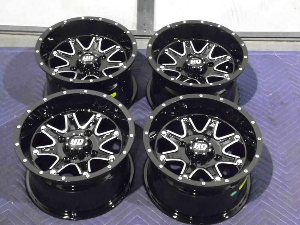 "Yamaha Grizzly 660 >> 12"" YAMAHA GRIZZLY 660 ALUMINUM ATV WHEELS NEW SET 4 ..."
