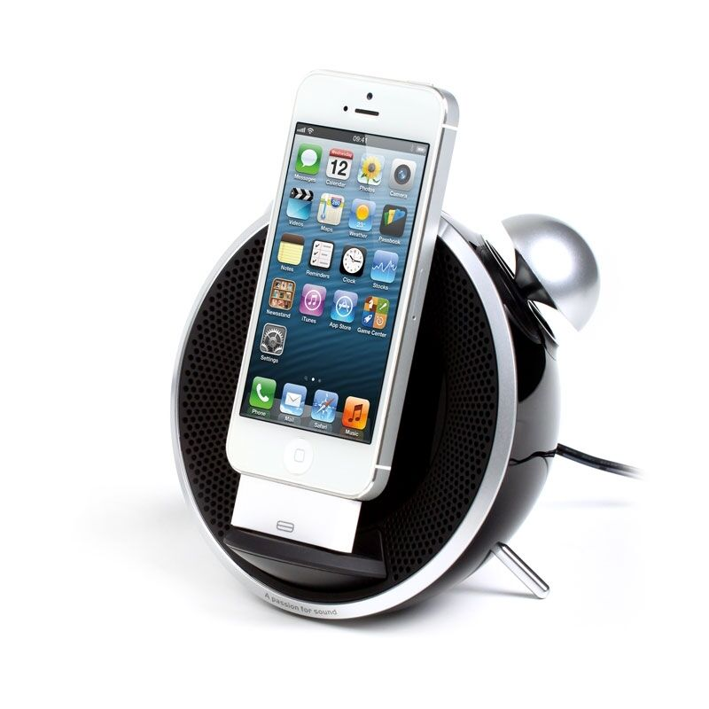 edifier tick tock if230 iphone 5 dock radiowecker docking. Black Bedroom Furniture Sets. Home Design Ideas