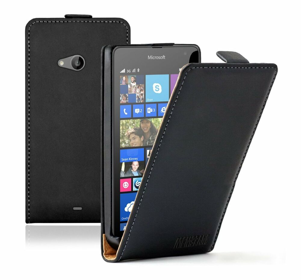 ULTRA SLIM Leather Flip Case Cover For Nokia Microsoft