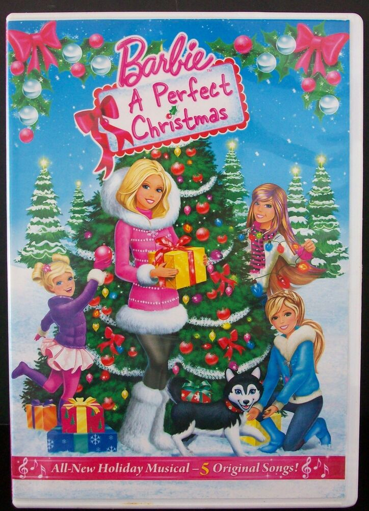 DVD Barbie: A Perfect Christmas Holiday Musical Movie NEW 25192077258   eBay