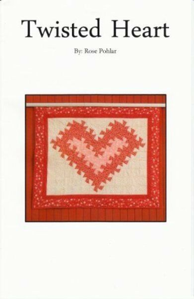 Twisted Heart Quilt Pattern uses Lil Twister Tool eBay