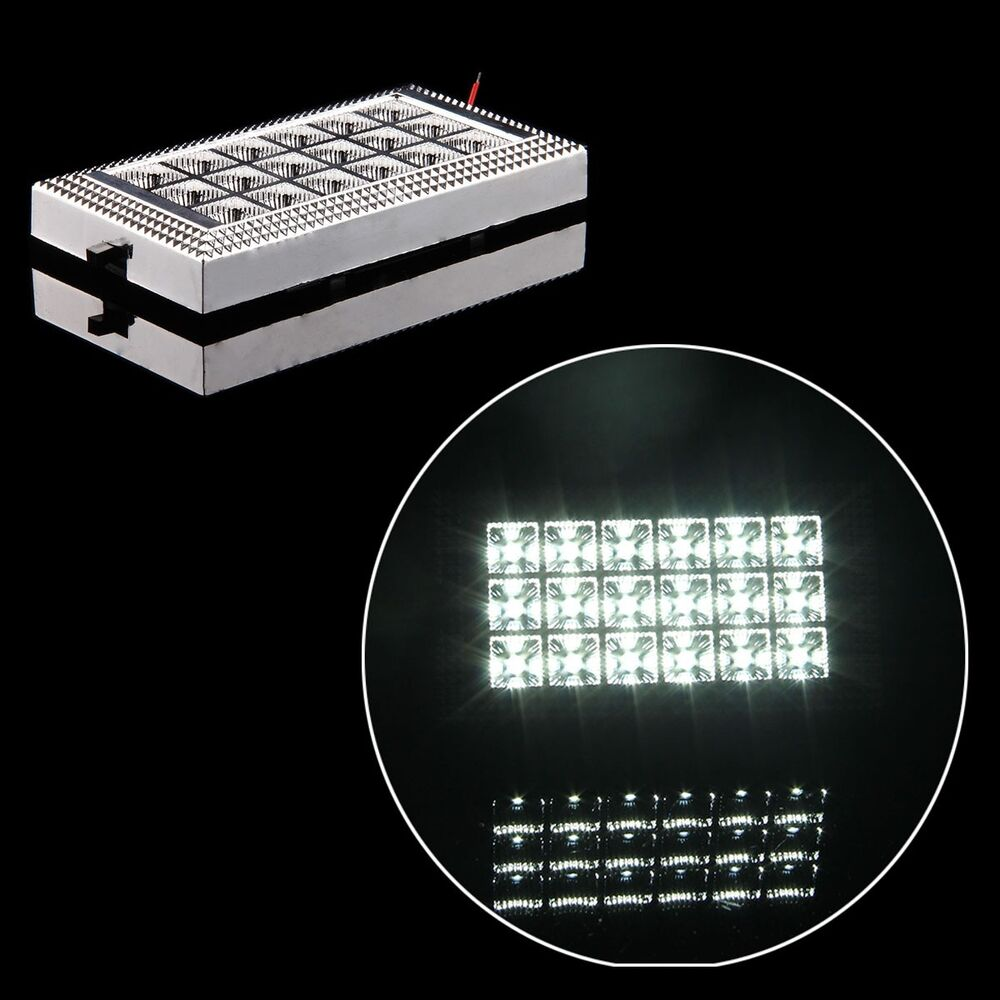 18 led bright white car vehicle roof ceiling dome interior light lamp 12v 5w ebay. Black Bedroom Furniture Sets. Home Design Ideas