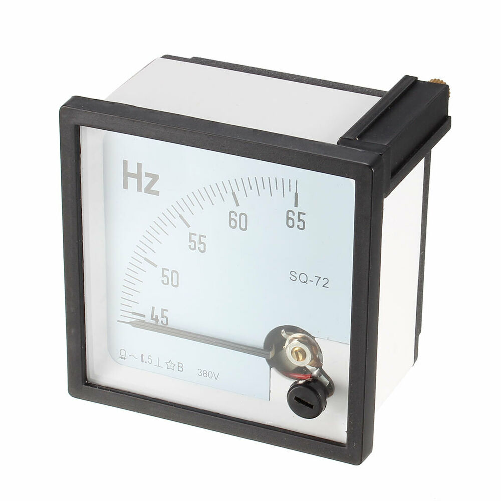 First Analog Meter : Hz frequency ac v analog panel meter accuracy