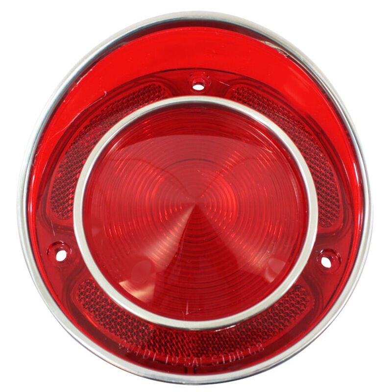 New Trim Parts Tail Light Lamp Lens For 1968 69 C3