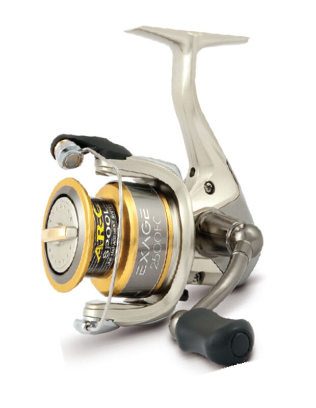 Shimano new exage fd 2500 fixed spool sea fishing reel ebay for Ebay fishing reels