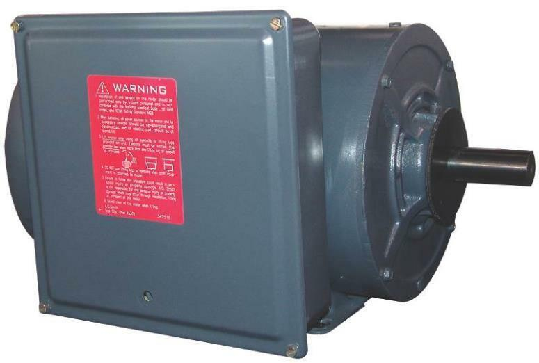 New century k208m2 usa 5 hp 1800rpm high torque electric for Lonne electric motors usa