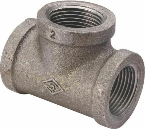 New lot quot inch black iron pipe threaded tee