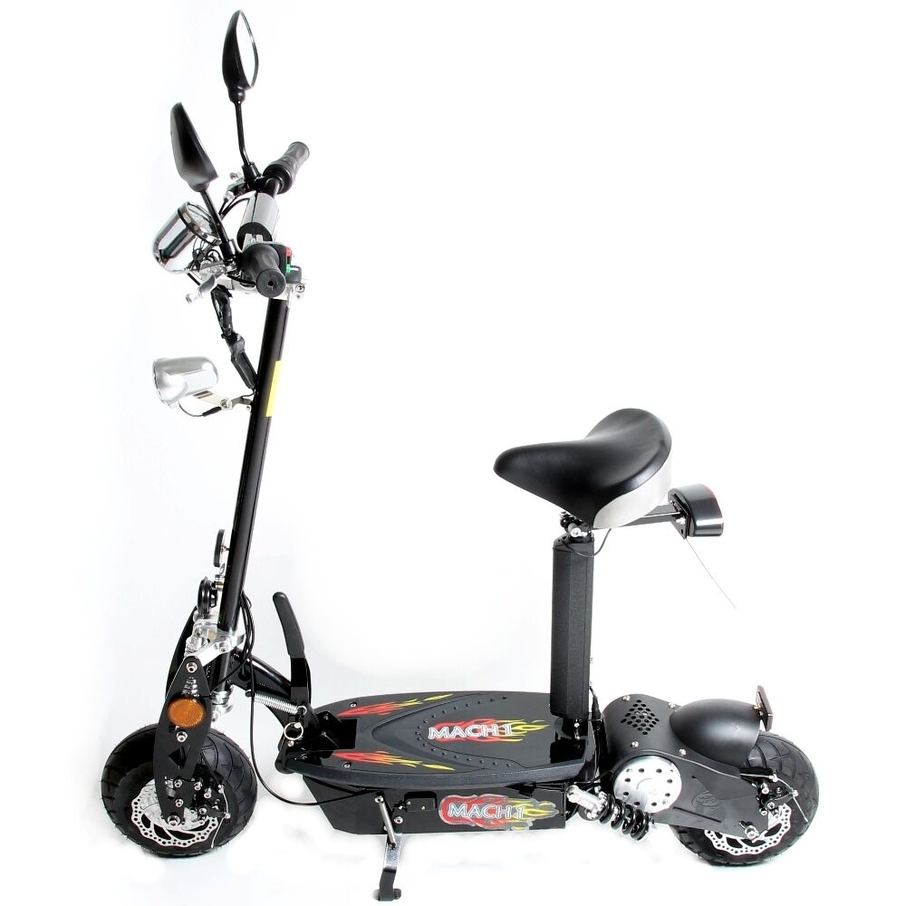 mach1 e scooter mit strassenzulassung 500w 36v elektro mofa scooter roller 1693 ebay. Black Bedroom Furniture Sets. Home Design Ideas