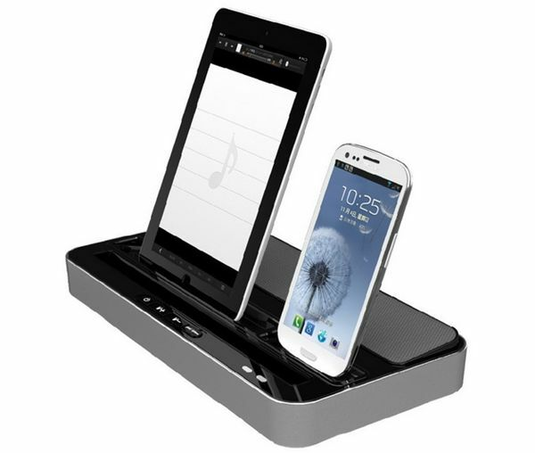 iphone 6 docking station dual charger station speaker for iphone 6 5 5s 5c 14967