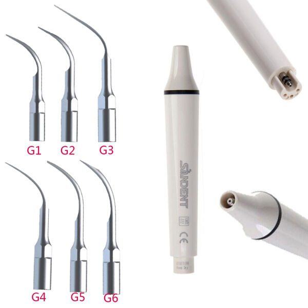 Dental Manipolo Ablatore Ultrasonic Scaler Handpiece fit EMS woodpecker+6TIPS