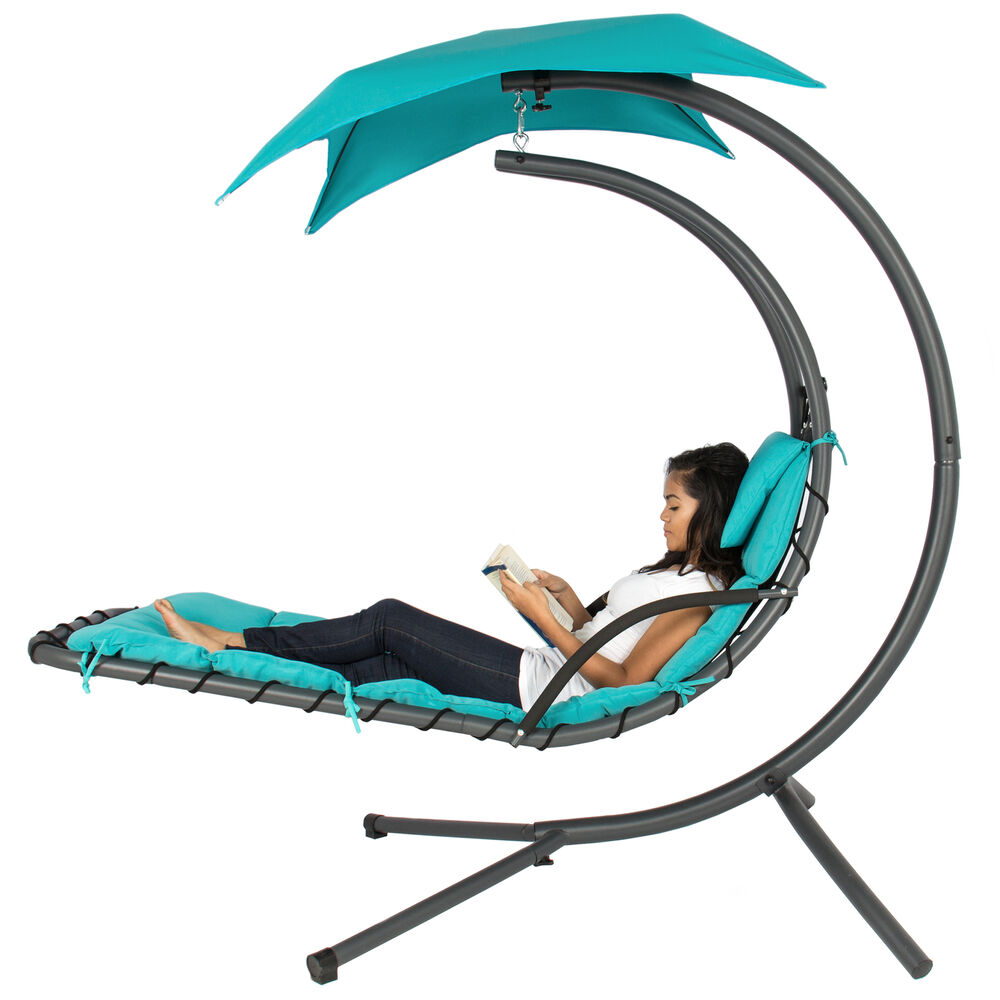Bcp Hanging Chaise Lounge Chair W Canopy 799564866572 Ebay