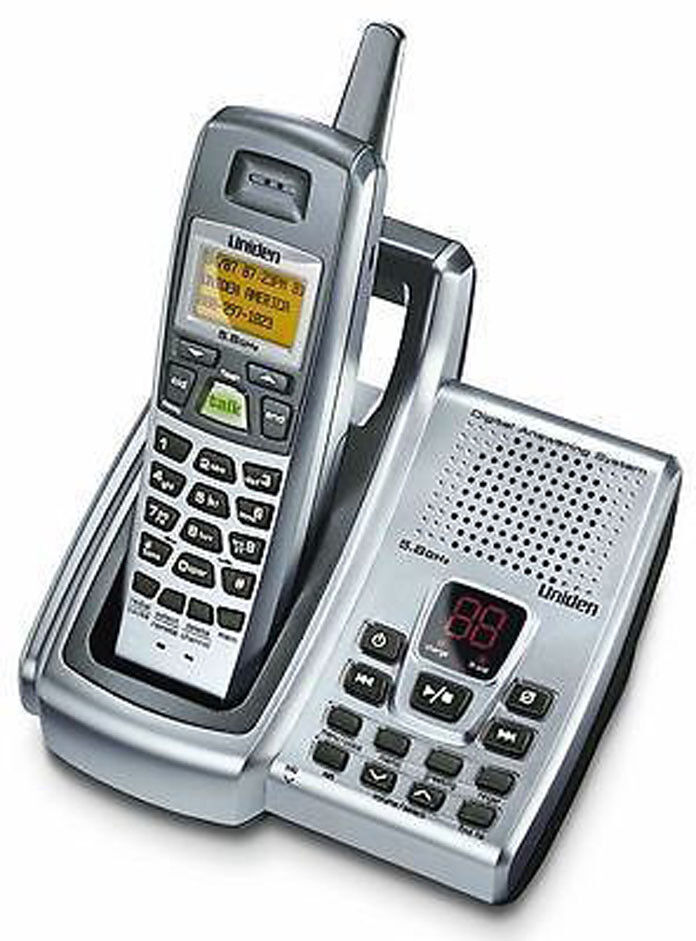 uniden phone with answering machine