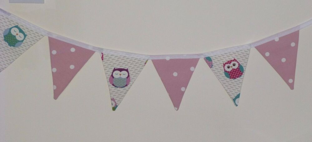 party flags and bunting