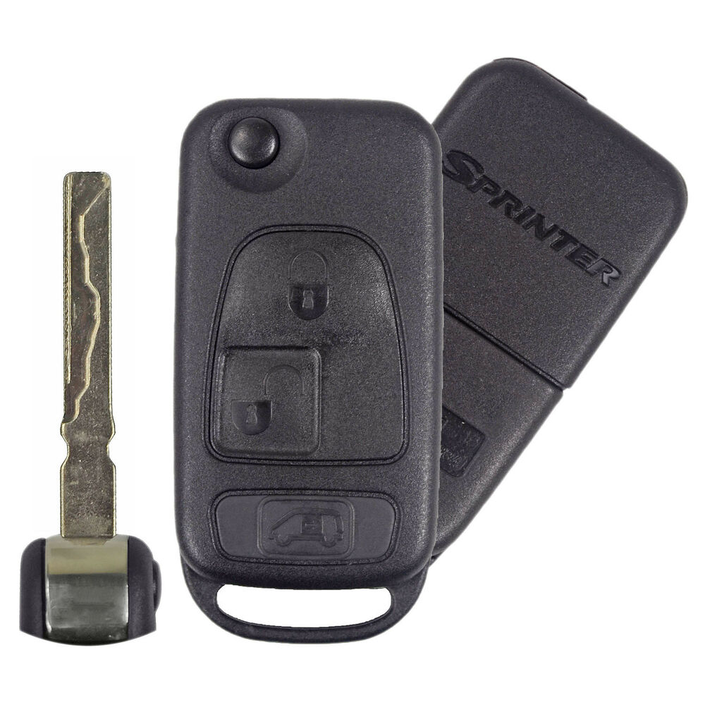 New condition oem factory remote flip key for mercedes for Replacement key mercedes benz