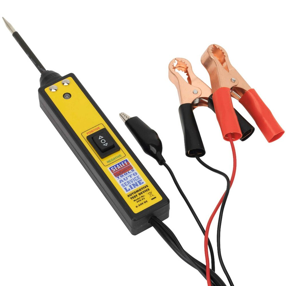 sealey car auto automotive circuit electrical test probe tester plus 6 24v ppx ebay. Black Bedroom Furniture Sets. Home Design Ideas