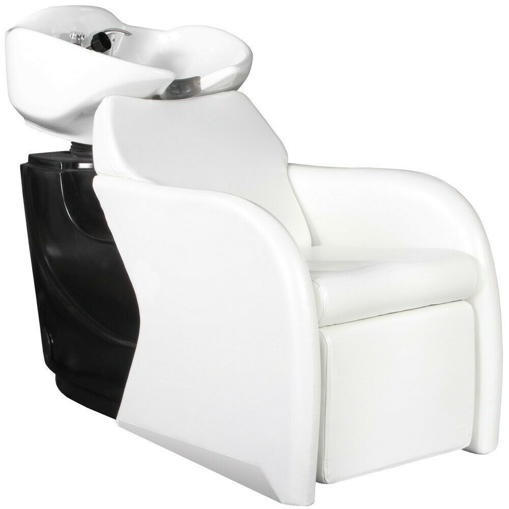 Salon Equipment Hair Washing Shampoo Backwash Bowl Unit Sink Chair Su 37w Ebay