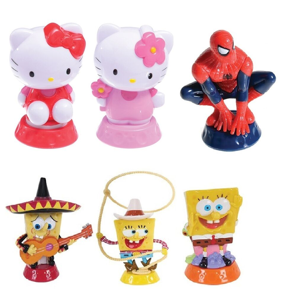 Character CAKE TOPPER Figurines (Culpitt)(Birthday/Party/Creative/Kids ...
