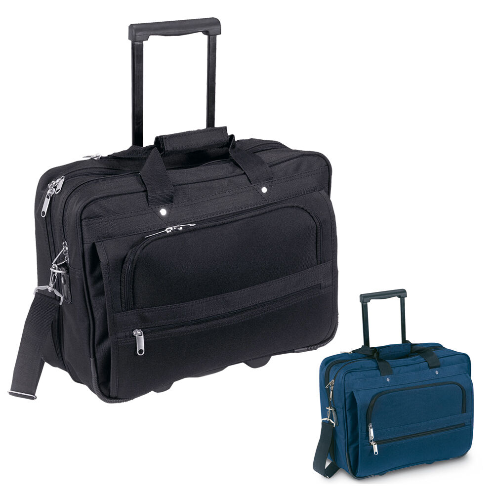 d6a10c9495 Details about LAPTOP TROLLEY TRAVEL CASE - BUSINESS DOCUMENT CABIN FLIGHT  BAG HAND LUGGAGE UK