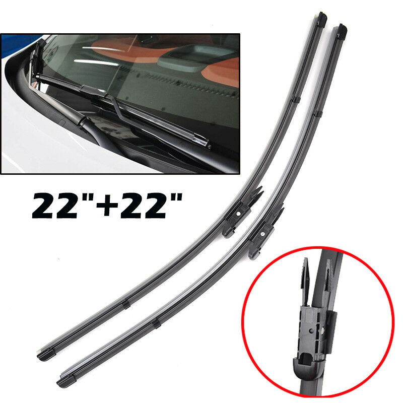 Windshield wiper blades windscreen fit for 05 11 cadillac for Mercedes benz wiper blades