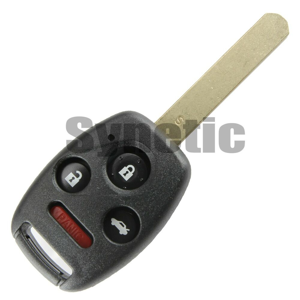 1x Replacement Key Case Shell Remote Keyless Fob For Honda ...
