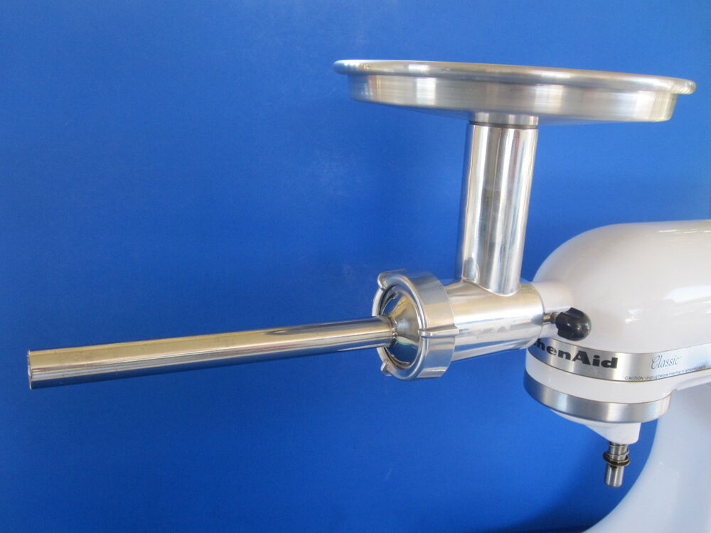 ALUMINUM Chefs Choice Meat Grinder Food Chopper For