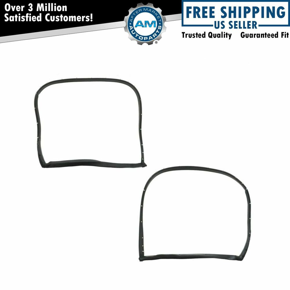 T-Top Hatch Weatherstrip Seal Rubber Kit Pair Set For 69
