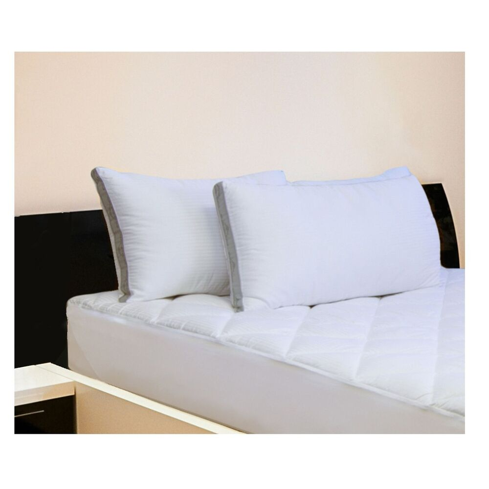 2 pk hotel luxury reserve collection cotton bed pillows 20