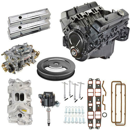 Gm Goodwrench 350ci 195 Hp Chevy Crate Engine Chevrolet: GM 350 Engine Kit W/ Components Includes Carb Intake