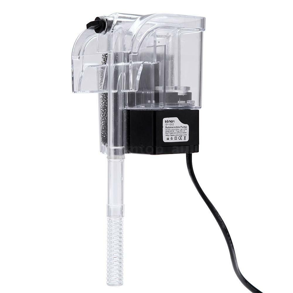 External filter oxygen water pump for fish tank aquarium for Fish water pump