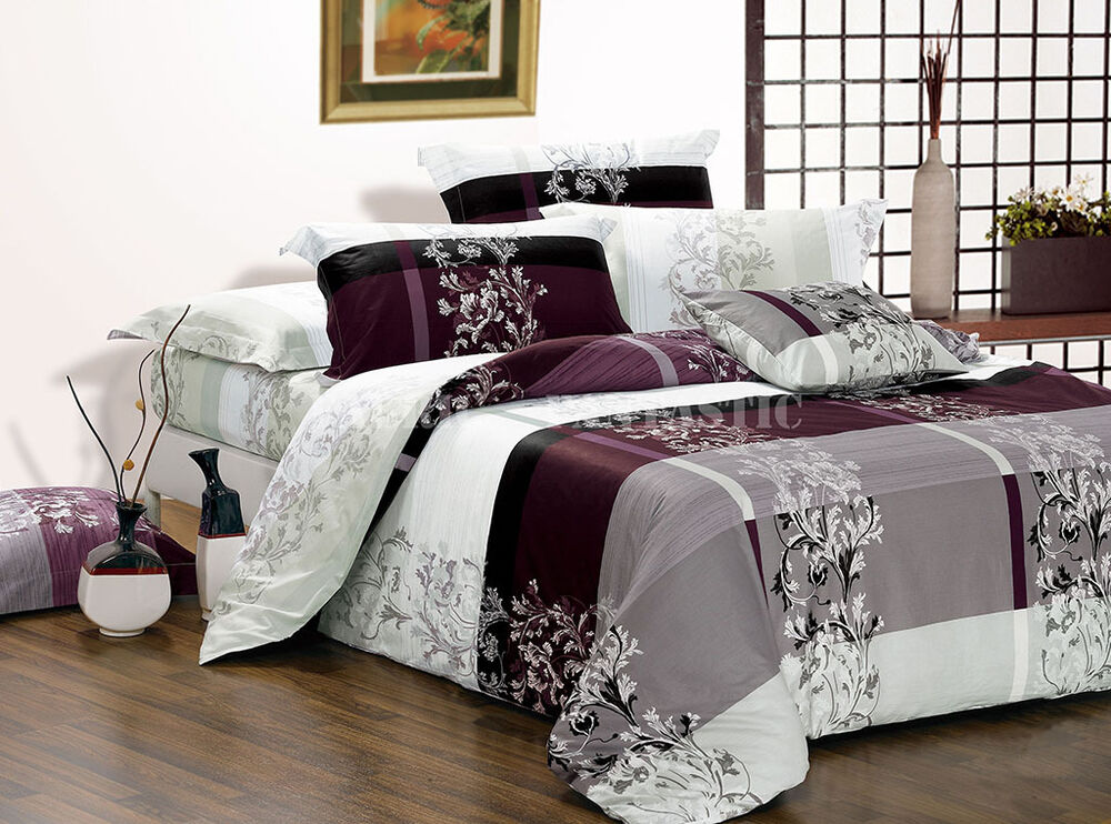 Maisy Double Queen King Size Bed Quilt Doona Duvet Cover