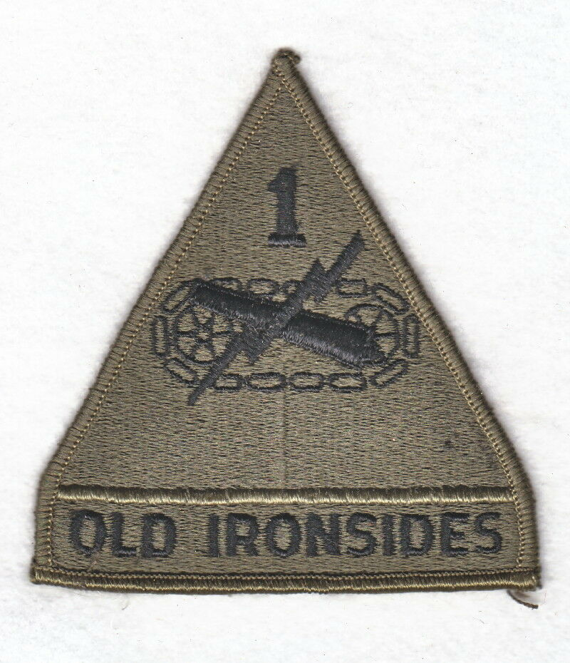 1st army patch variations