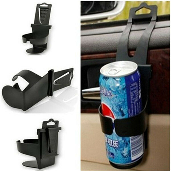 cool black universal vehicle car truck door mount drink bottle cup holder stand ebay. Black Bedroom Furniture Sets. Home Design Ideas