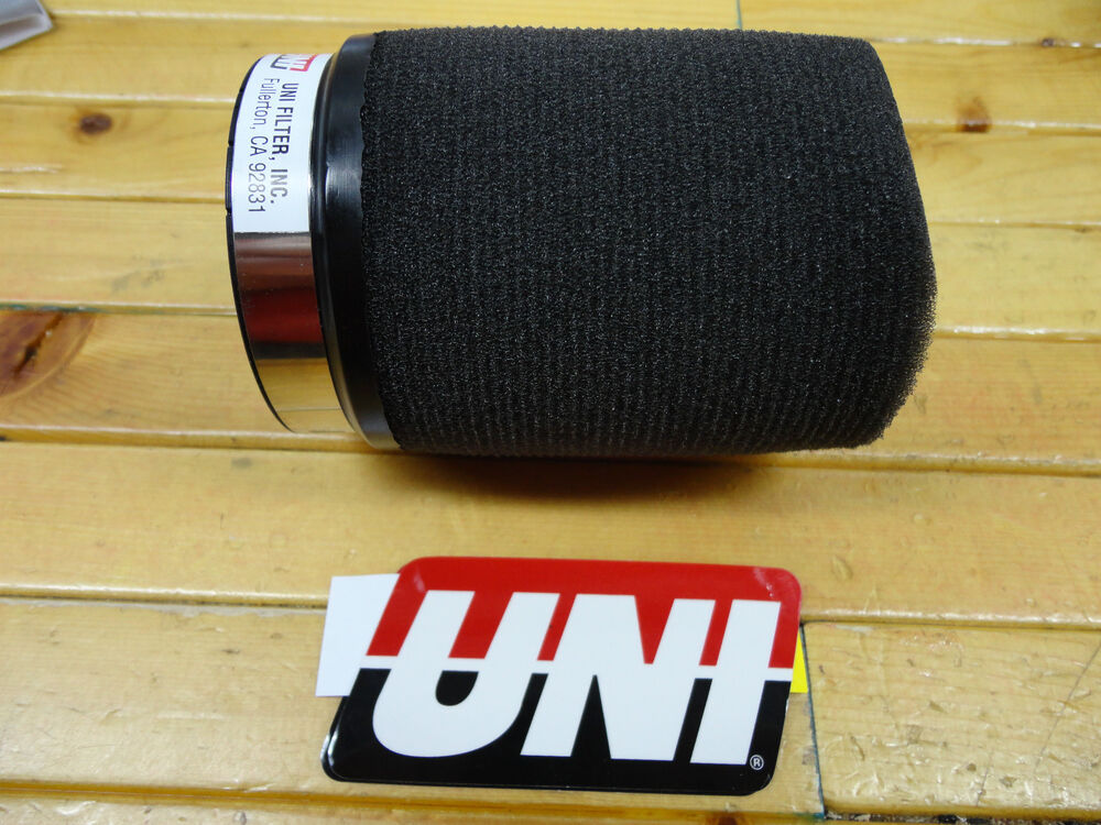 Uni Universal Pod Air Filter Fits 50mm Or 2 Quot Carb Flange