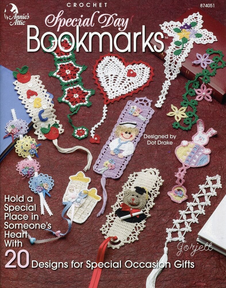 Crochet Bookmarks. These free crochet bookmark patterns are perfect for kids and adults. Choose from a number of different styles and skill levels and keep them for yourself or give them away to the bookworms in your life.