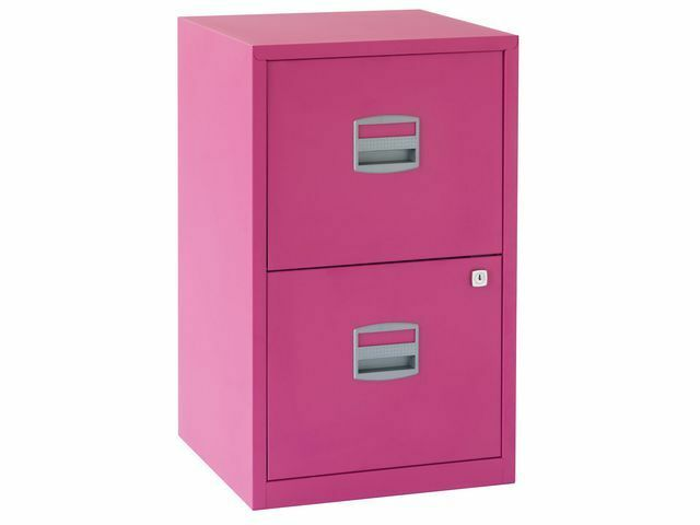 pink bisley 2 3 drawer file cabinets the container store aqu