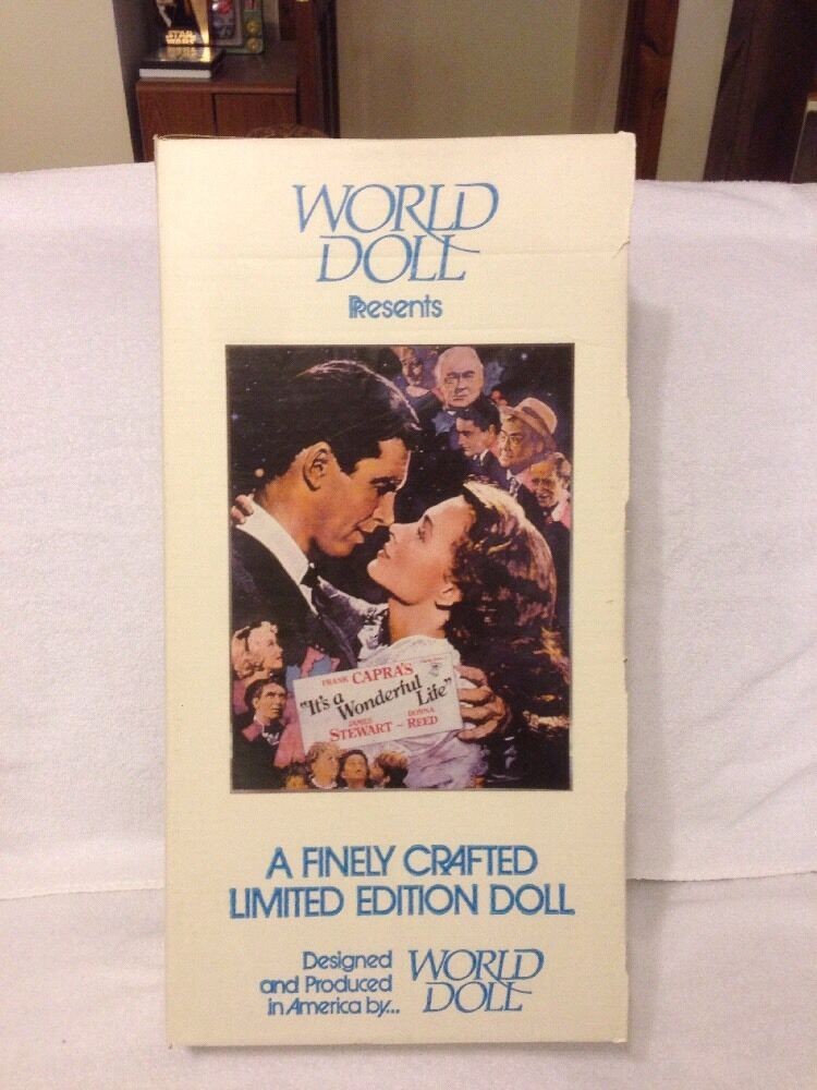 World Doll Presents Donna Reed As Mary Bailey In Its A Wonderful Life 71810 Ebay