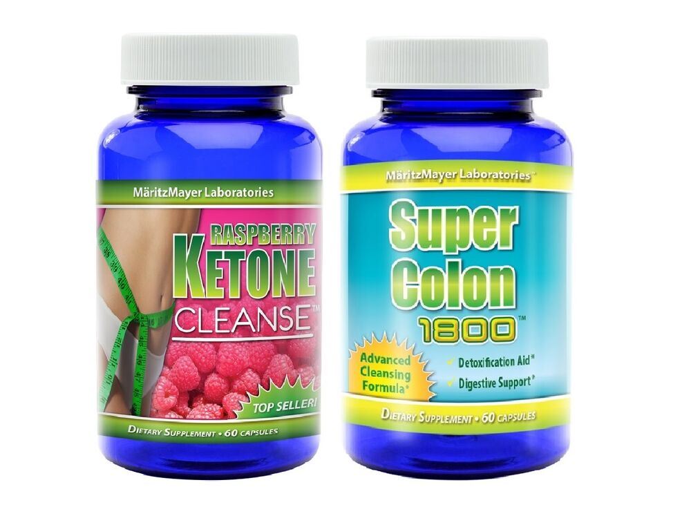raspberry ketone cleanse super colon cleanse natural diet weight loss detox ebay. Black Bedroom Furniture Sets. Home Design Ideas
