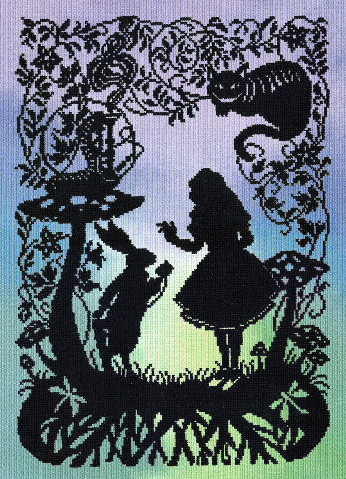 Bothy Threads Fairy Tales Alice In Wonderland Counted