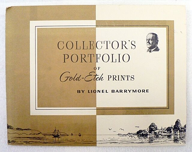 Collector S Portfolio Of Gold Etch Prints By Lionel