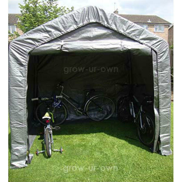 Portable Motorcycle Shelter : Large garden shed portable garage shelter canopy gazebo