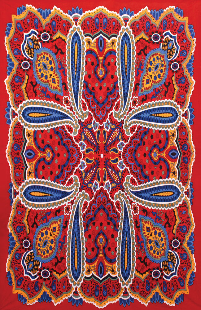 3d hippie paisley tapestry beach sheet 60x90 wall for Fomic sheet wall hanging