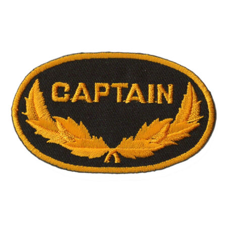 img-Patche écusson Captain Marine Marin capitaine patch thermocollant