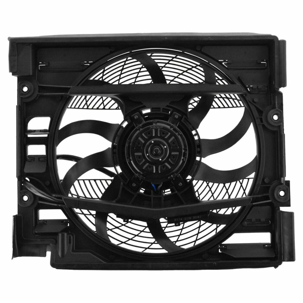 Ac Condenser Auxiliary Cooling Fan Motor Blade Shroud