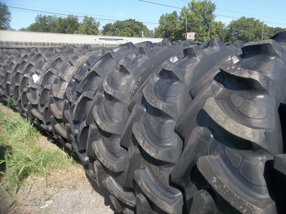 12 4x24 Tractor Tires : Two r samson radial fits deere ford ih
