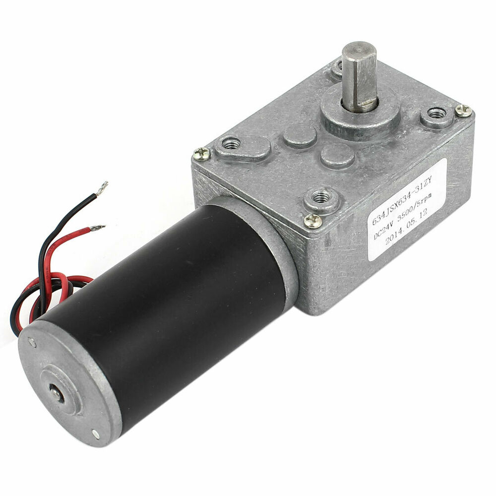 Worm Gear Motor High Torque on high power 12v dc motor