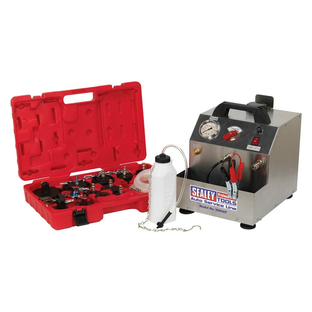 Pressure Brake Bleeder >> Sealey Vehicle / Car Brake / Clutch Pressure Bleeder ...