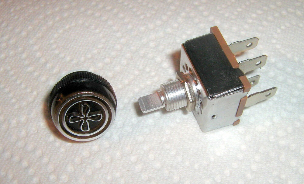 Rotary Air Conditioning 3 Speed Blower Switch Indak Made