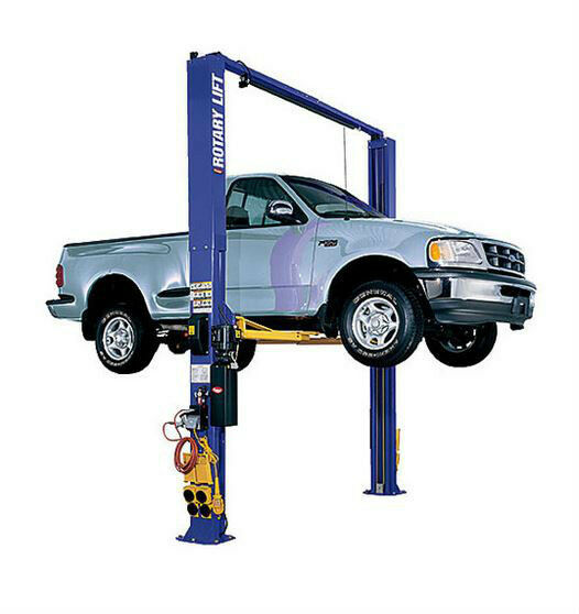 10000 Lb Car Lift >> Rotary SPO10 2 Post Auto Lift 10,000# Standard Arms Flip ...