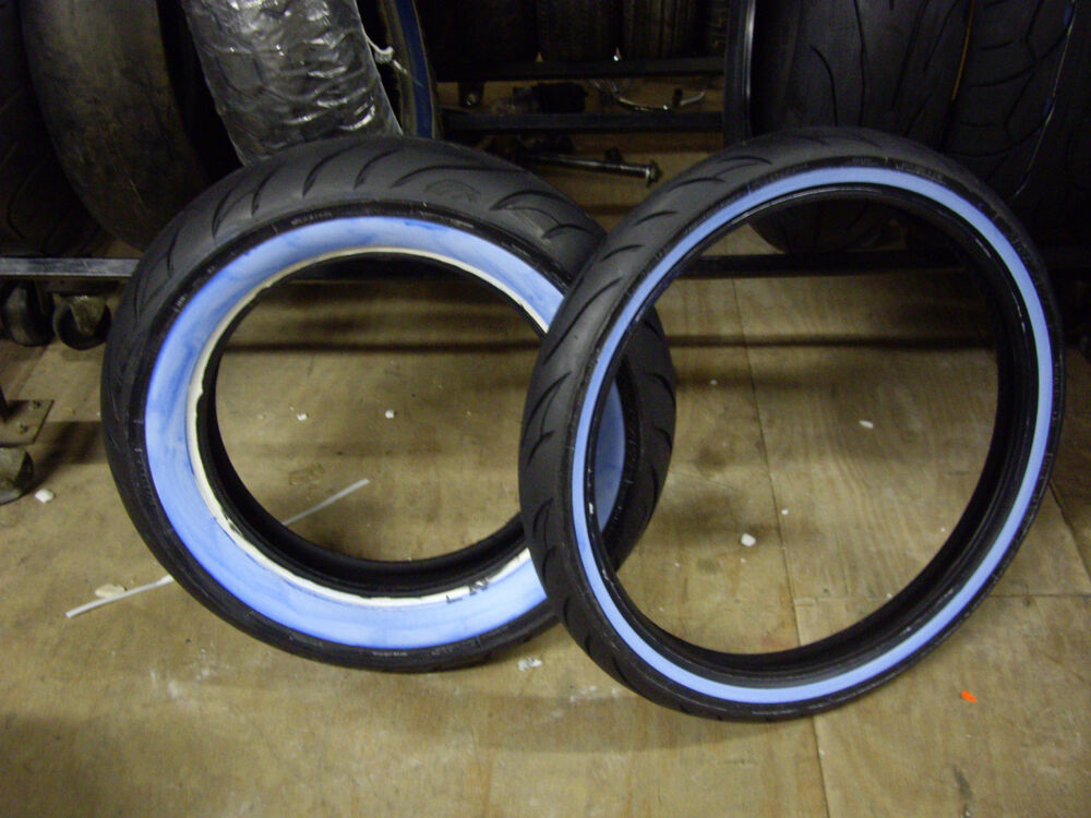 90 S Walls Google Search: 2 AVON COBRA WIDE WHITE WALL TIRES 150/80-16 & MH90-21 IN