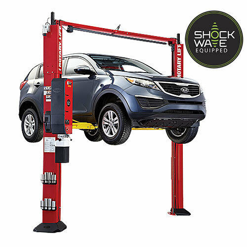 10000 Lb Car Lift >> Rotary SPOA10-SW SHOCKWAVE 10000# 2 Post Auto Lift Standard Arms FlipUp Adapters | eBay